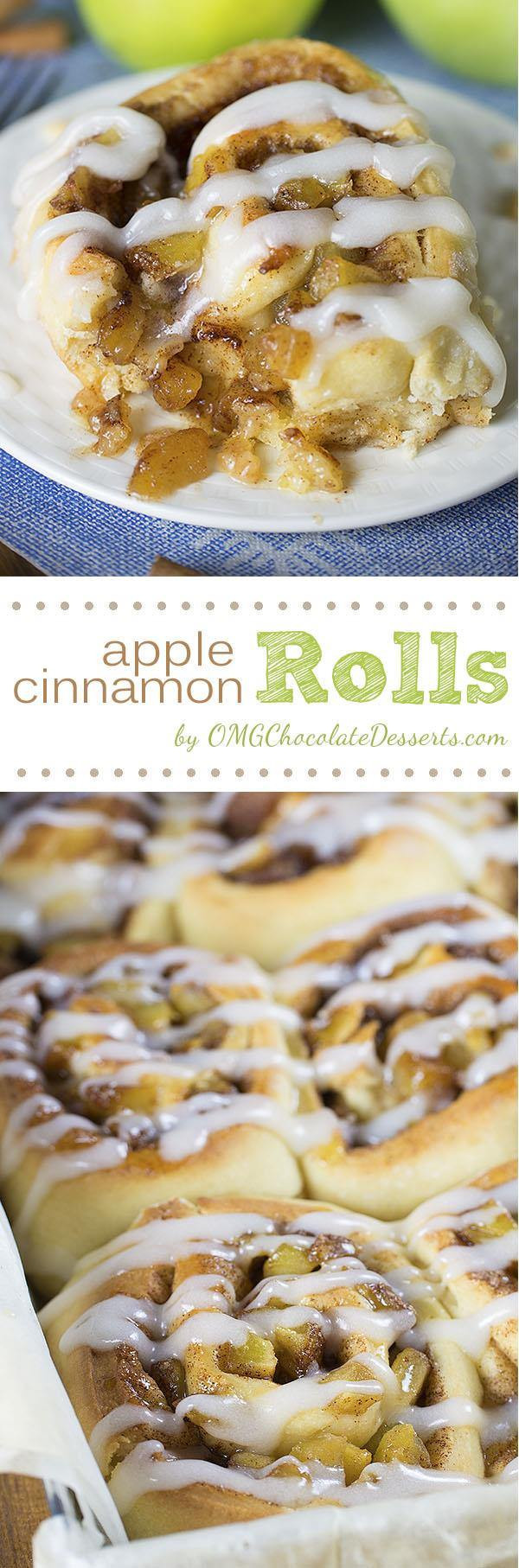 Cinnamon Roll Apple Pie  Apple Pie Cinnamon Rolls