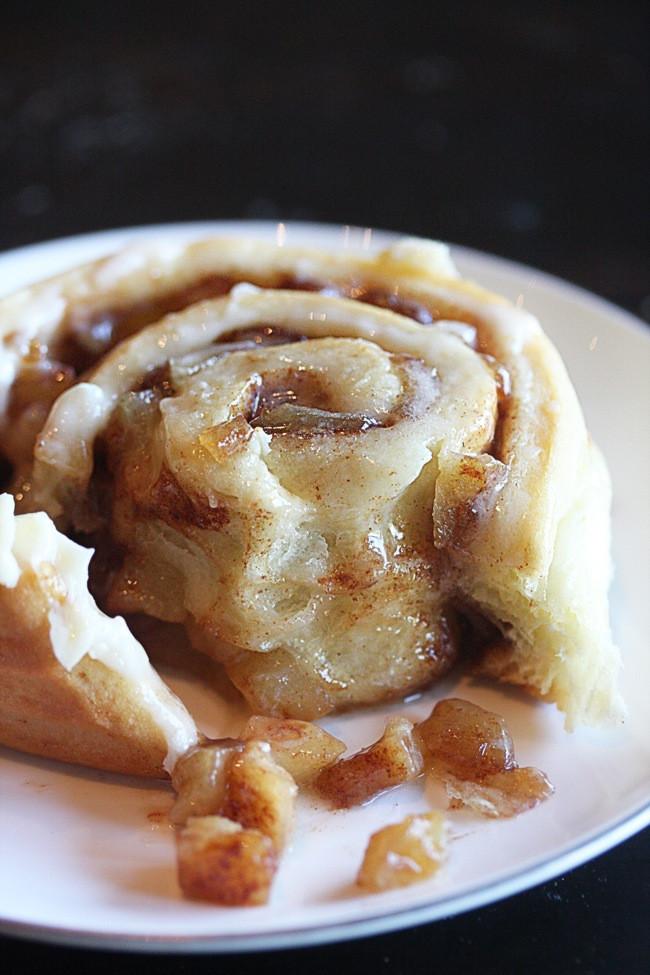 Cinnamon Roll Apple Pie Recipe  Apple Pie Cinnamon Rolls The Hopeless Housewife