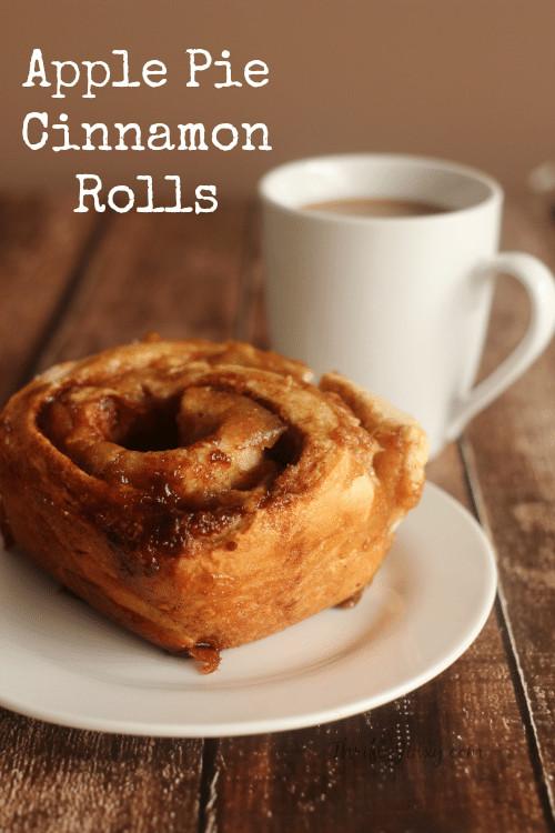 Cinnamon Roll Apple Pie Recipe  Apple Pie Cinnamon Rolls Recipe From Scratch Thrifty