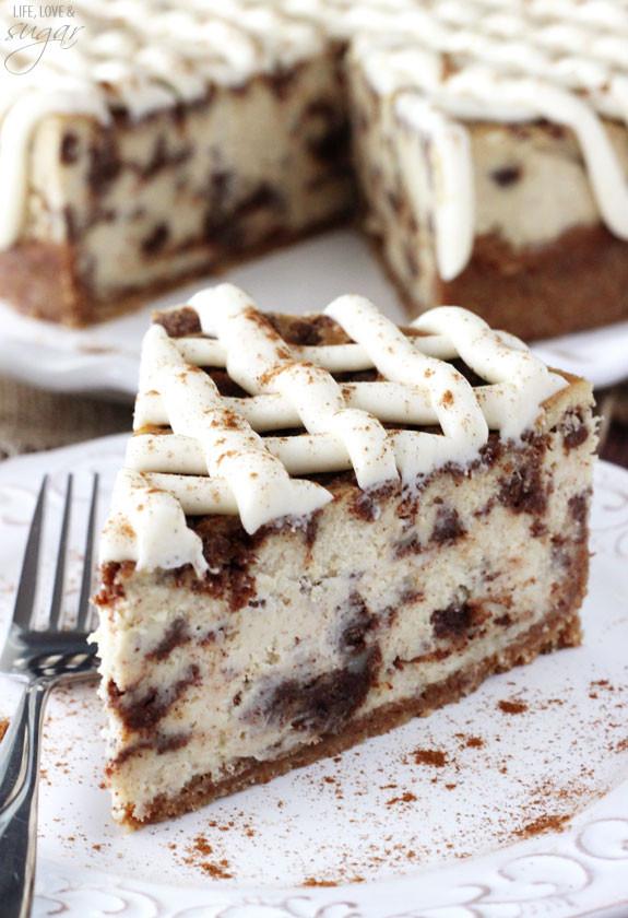 Cinnamon Roll Dessert  Cinnamon Roll Cheesecake Life Love and Sugar