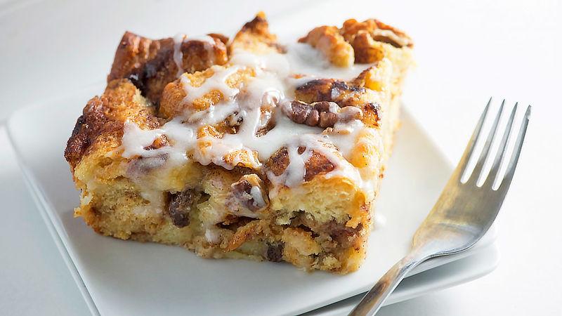 Cinnamon Roll Dessert  Cinnamon Roll Bread Pudding Recipe Tablespoon
