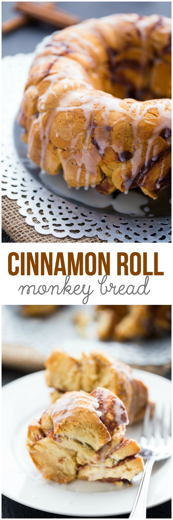 Cinnamon Roll Dessert  Cinnamon Roll Monkey Bread Recipe