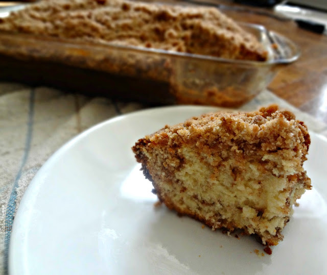 Cinnamon Streusel Coffee Cake  The Cooking Actress Cinnamon Streusel Coffee Cake