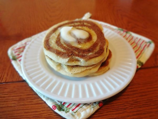 Cinnamon Swirl Pancakes  Gluten Free Cinnamon Swirl Pancakes • The Fit Cookie