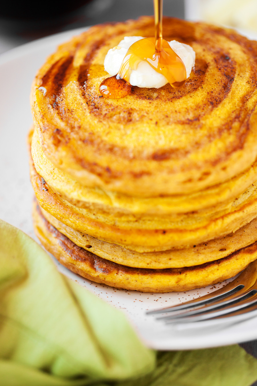 Cinnamon Swirl Pancakes  Pumpkin Cinnamon Swirl Pancakes Made To Be A Momma