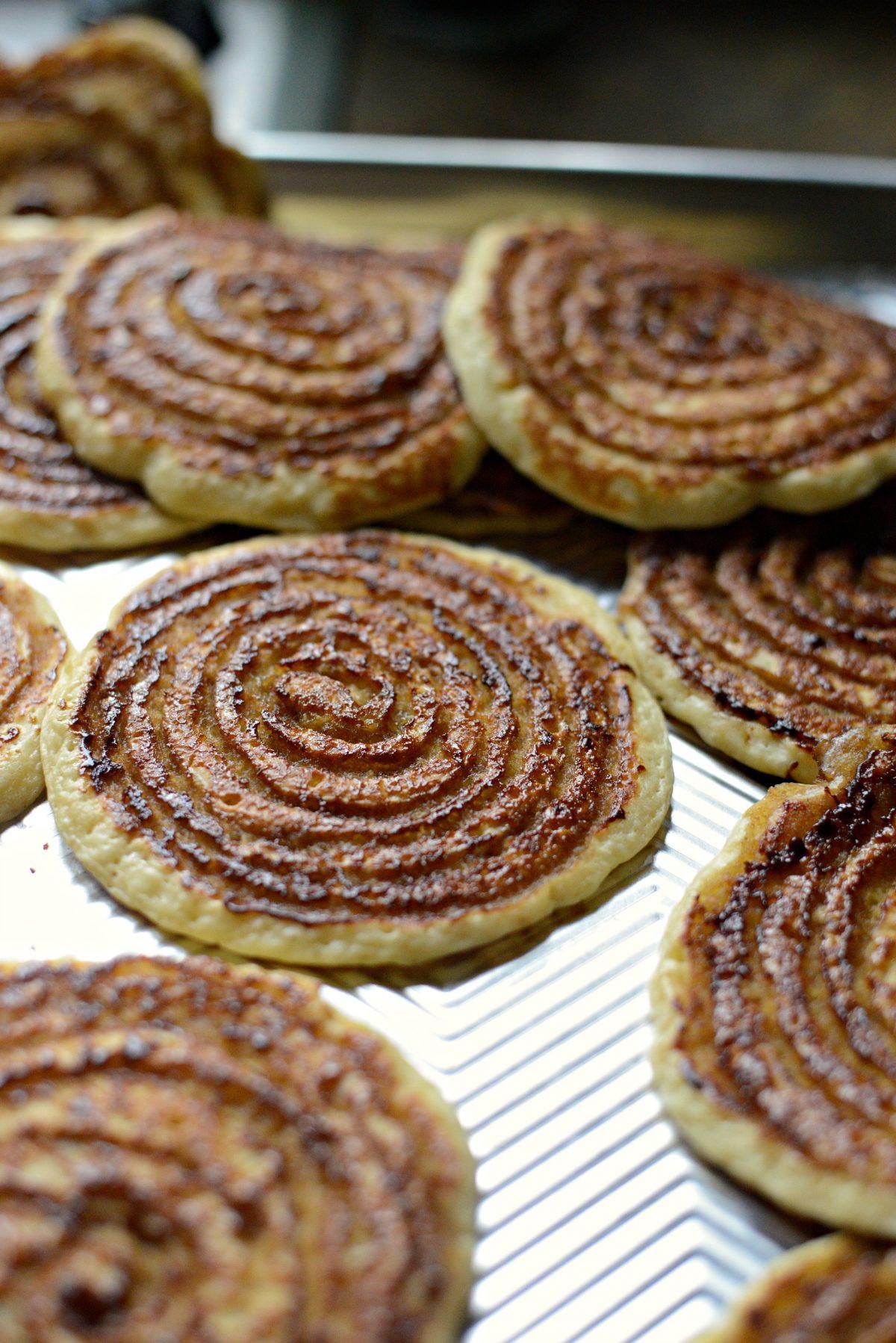 Cinnamon Swirl Pancakes  Simply Scratch Cinnamon Swirl Pancakes Simply Scratch