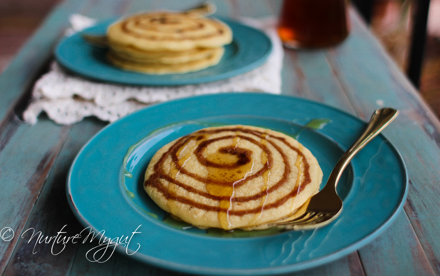 Cinnamon Swirl Pancakes  Paleo Cinnamon Swirl Pancakes Tutorial