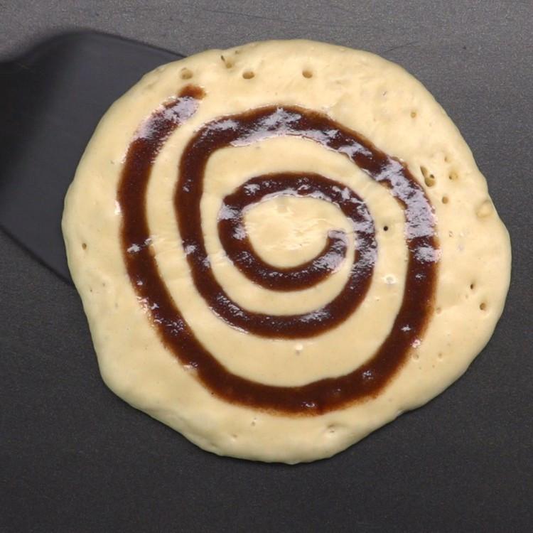 Cinnamon Swirl Pancakes  Cinnamon Roll Pancakes Recipe & Video