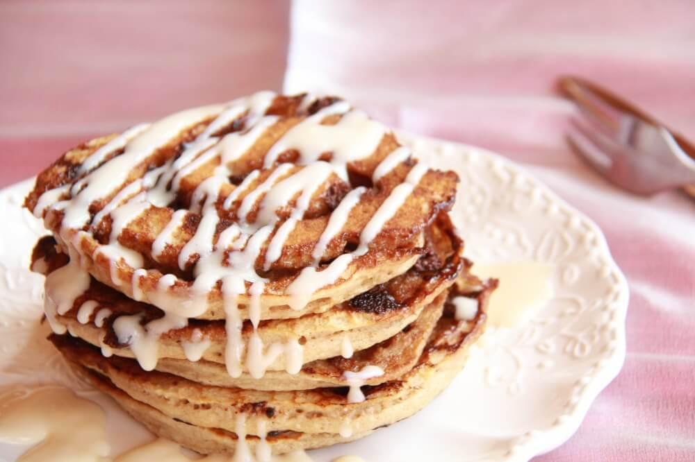 Cinnamon Swirl Pancakes  Half Baked Harvest Made with Love