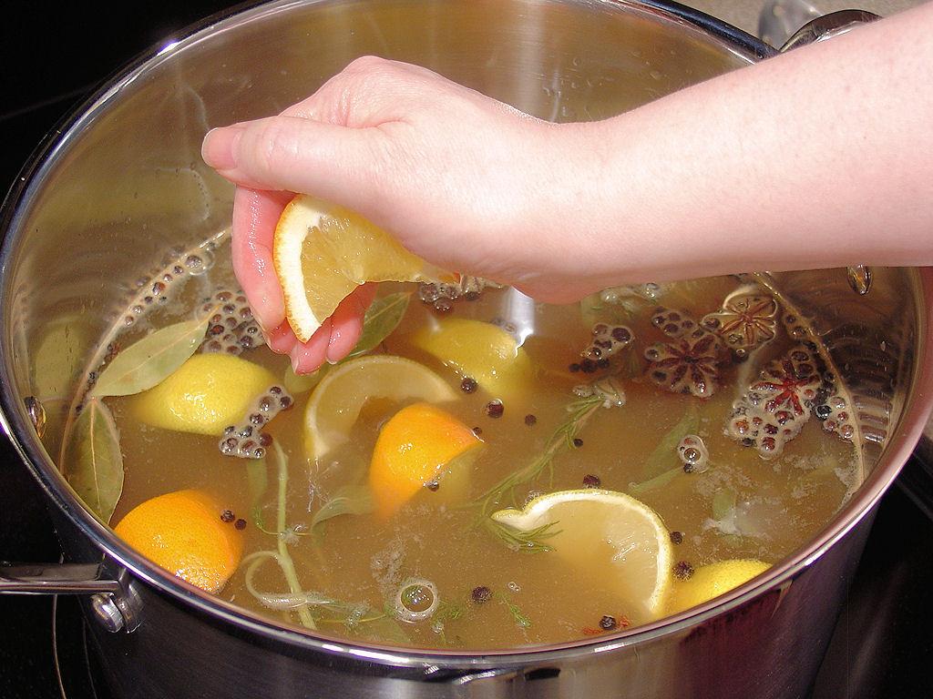 Citrus Turkey Brine  Apple Cider & Citrus Turkey Brine with Herbs Wicked Good