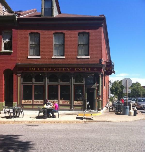 City Dinner St.Louis  pat likes to eat blues city deli st louis mo