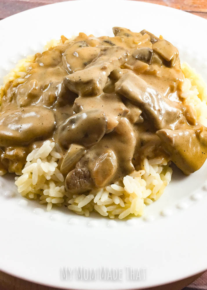 Classic Beef Stroganoff  Classic Beef Stroganoff Recipe My Mom Made That