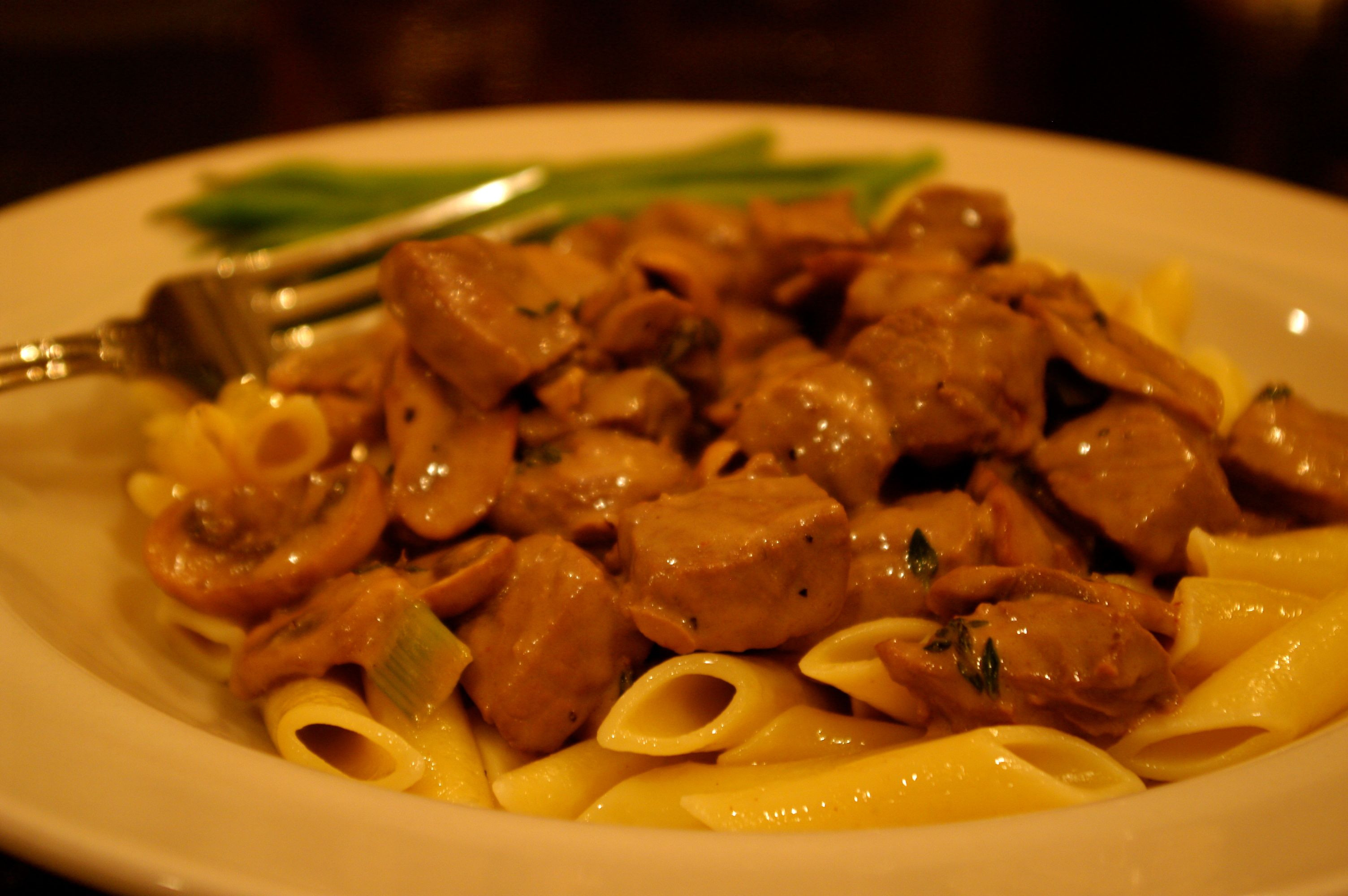 Classic Beef Stroganoff  Classic Beef Stroganoff Feeding the Famished