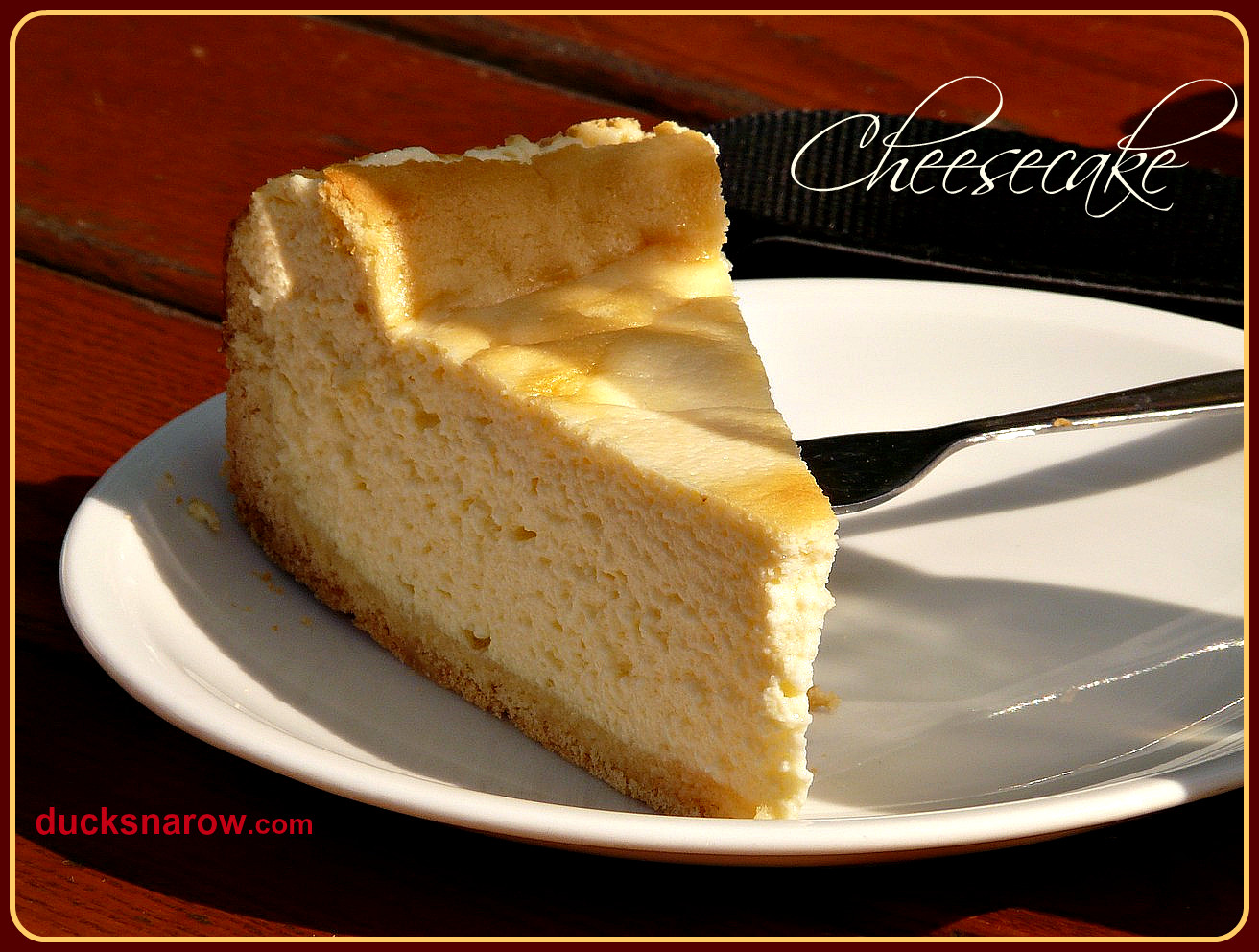 Classic Cheesecake Recipe  Classic Cheesecake Recipe Ducks n a Row