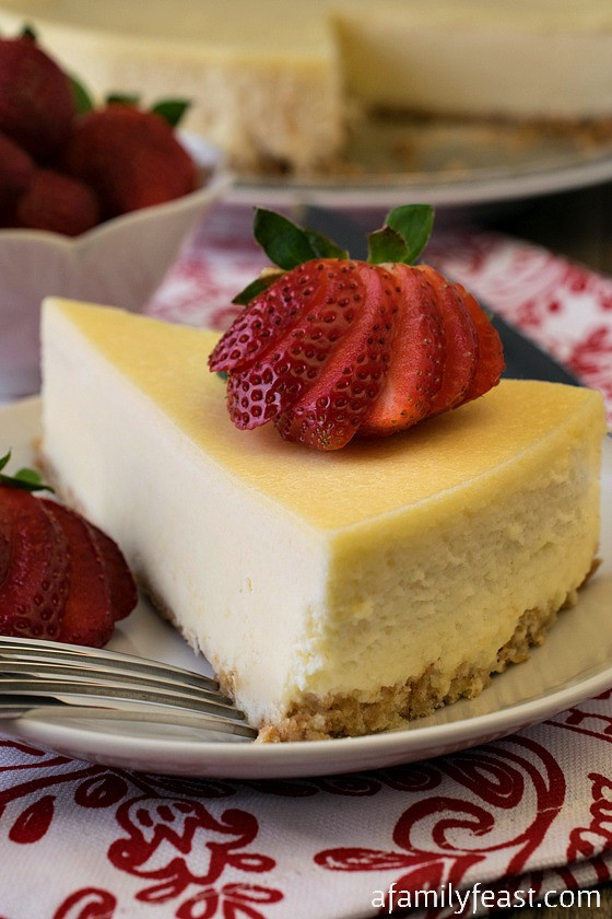 Classic Cheesecake Recipe  Classic Cheesecake Recipe