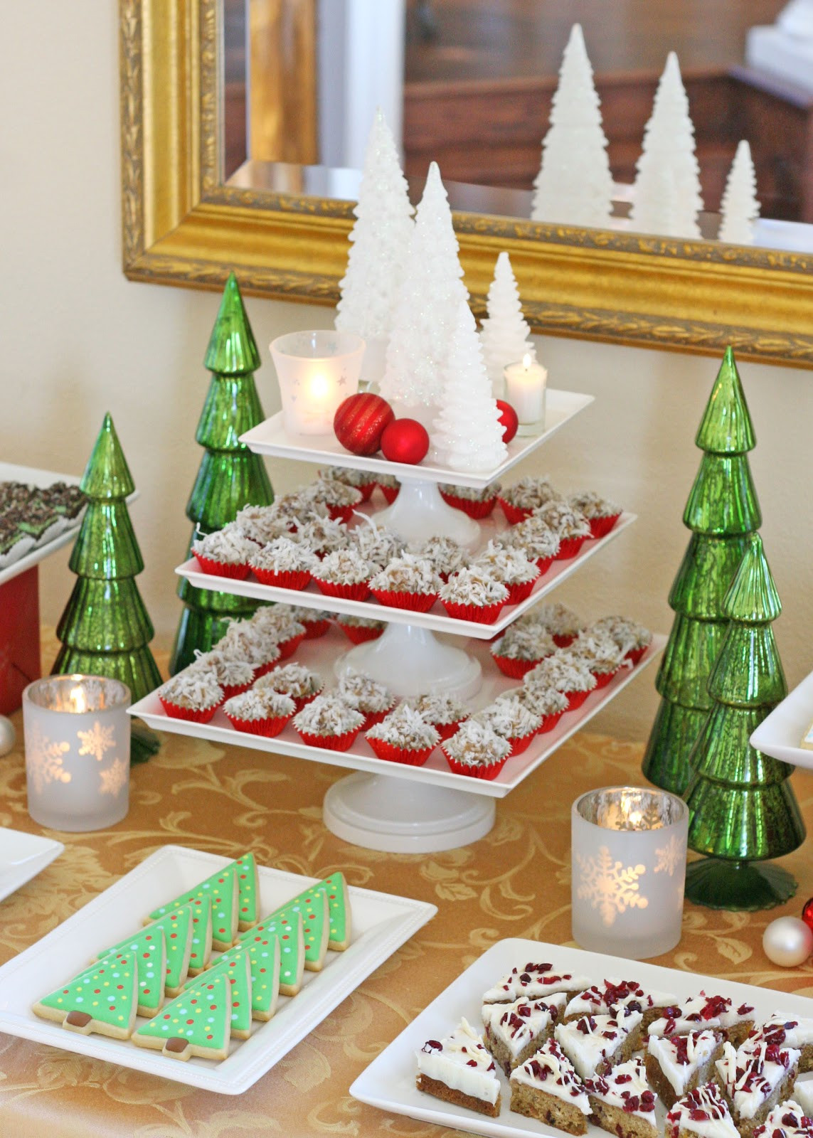 Classic Christmas Desserts  Classic Holiday Dessert Table – Glorious Treats