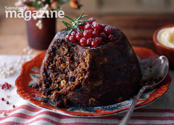 Classic Christmas Desserts  Recipe Classic Christmas pudding with brandy butter