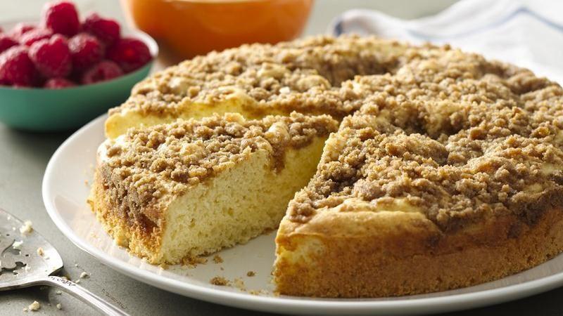 Classic Coffee Cake Recipe  Streusel Coffee Cake recipe from Betty Crocker