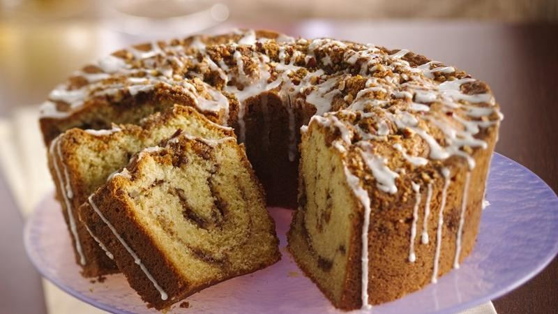Classic Coffee Cake Recipe  Classic Sour Cream Coffee Cake recipe from Betty Crocker