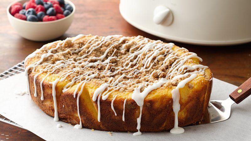 Classic Coffee Cake Recipe  Slow Cooker Classic Coffee Cake recipe from Betty Crocker