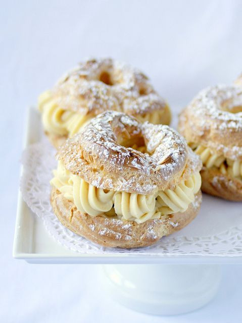 Classic French Desserts  Paris Brest assic French dessert a large ring of