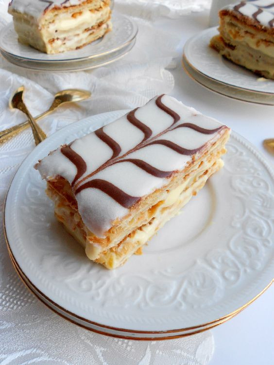 Classic French Desserts  Classic French Napoleon Mille Feuille Culinary Couture
