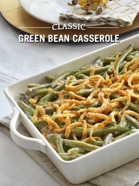 Classic Green Bean Casserole  16 best images about DelMonte Recipes on Pinterest