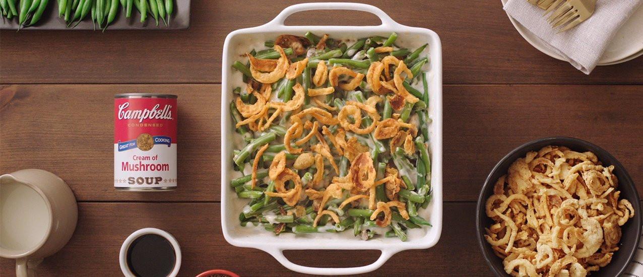 Classic Green Bean Casserole  Classic Green Bean Casserole Recipe