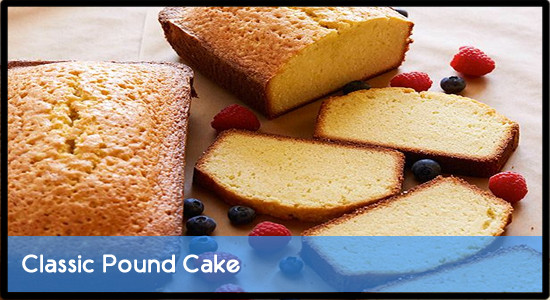 Classic Pound Cake Recipe  Classic Pound Cake