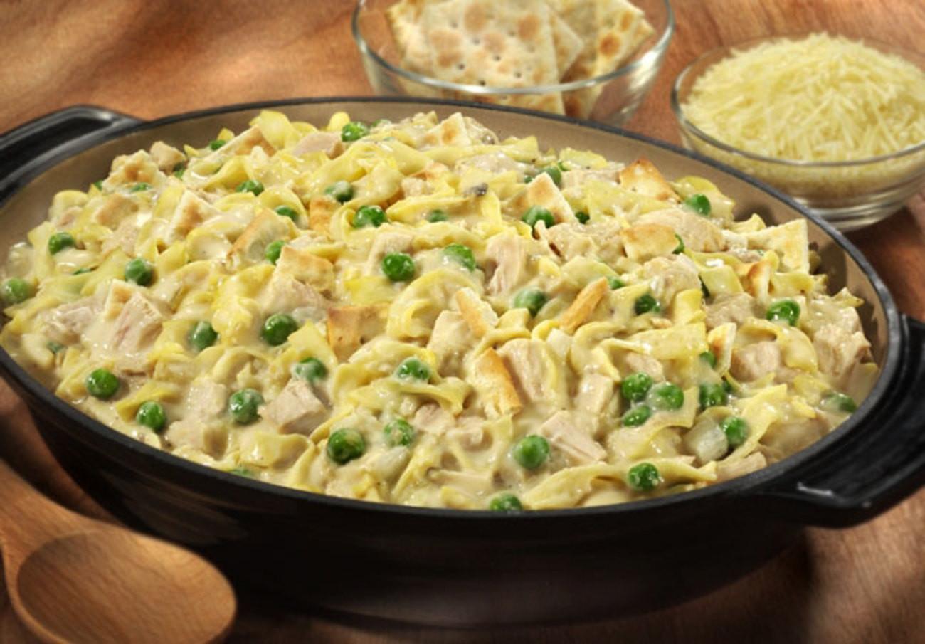 Classic Tuna Casserole  The Classic Tuna Noodle Casserole