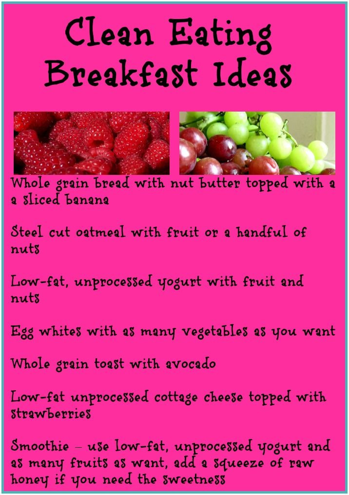Clean Eating Breakfast Ideas  240 best images about Clean Eating 101 on Pinterest