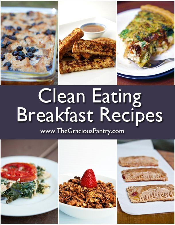 Clean Eating Breakfast Ideas  102 Best images about Healthy Breakfast on Pinterest