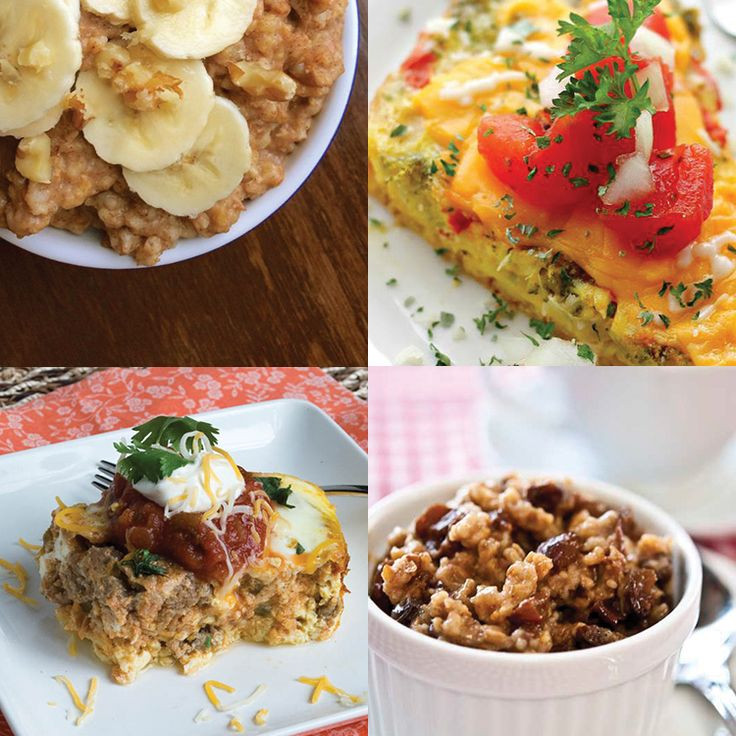 Clean Eating Breakfast Ideas  209 best images about Crock pot on Pinterest