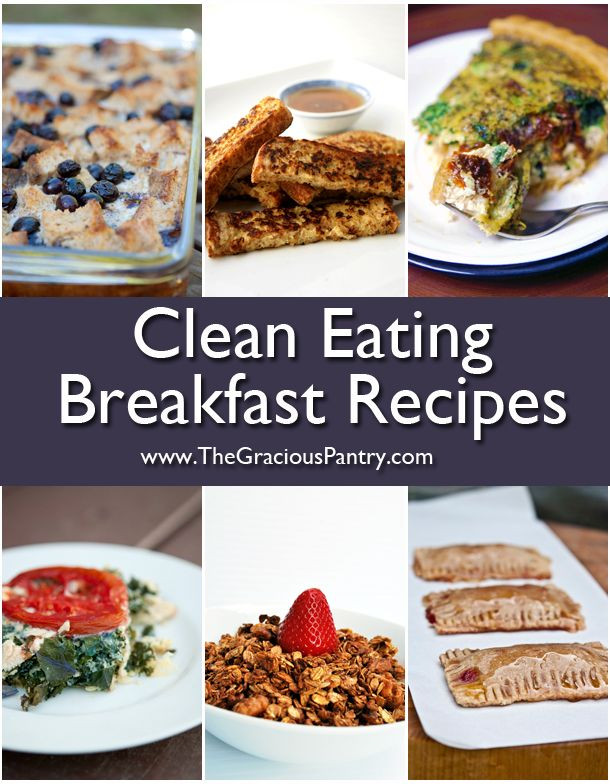 Clean Eating Breakfast Recipe  102 Best images about Healthy Breakfast on Pinterest