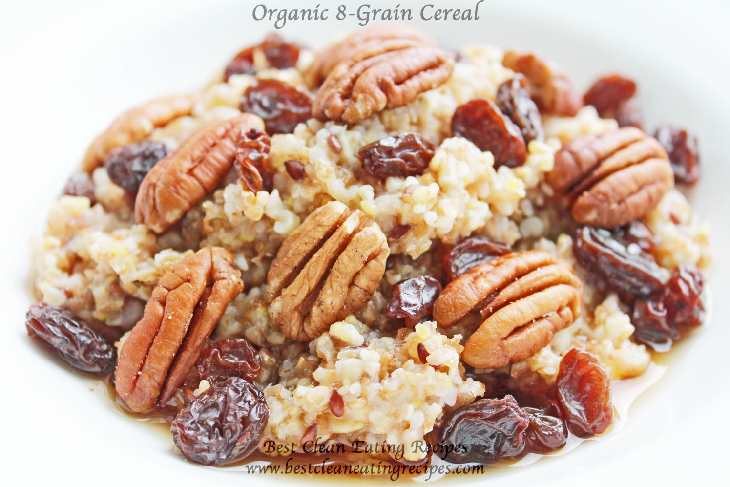 Clean Eating Breakfast  Clean Eating Breakfast Organic Cereal