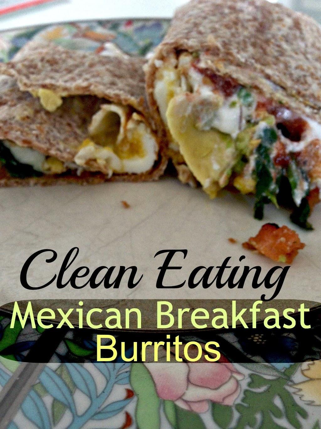 Clean Eating Breakfast  Broke and Bougie Clean Eating Breakfast Burritos