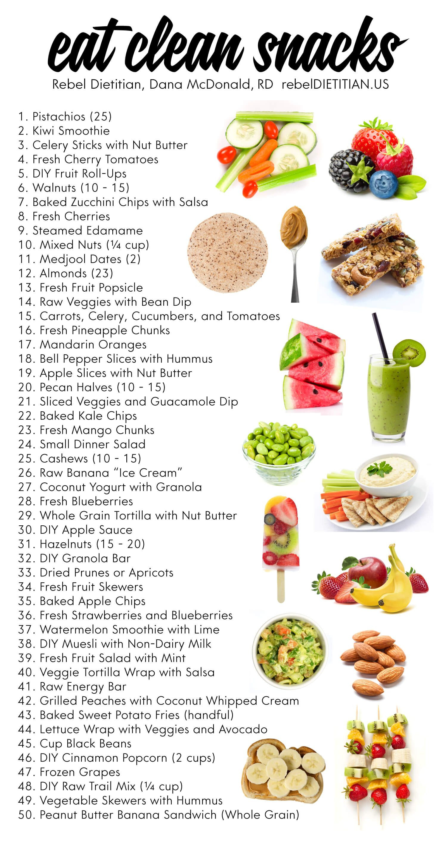 Clean Eating Snacks  Updated Healthy Snack Ideas Vegan