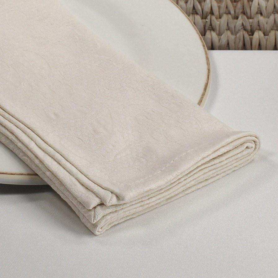 Cloth Dinner Napkins  Cloth napkins ivory dinner napkins jacquard lace fabric