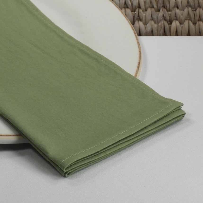 Cloth Dinner Napkins  Green fabric napkins dinner napkins cotton cloth napkins