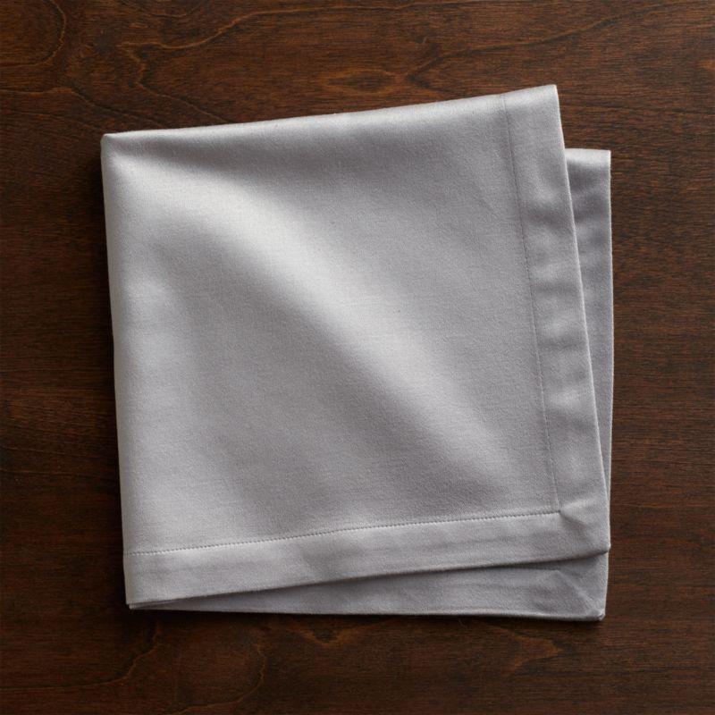Cloth Dinner Napkins  Sateen Silver Cloth Dinner Napkin Reviews