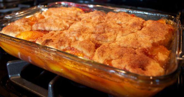 Cobbler Vs Pie  Southern Peach Cobbler