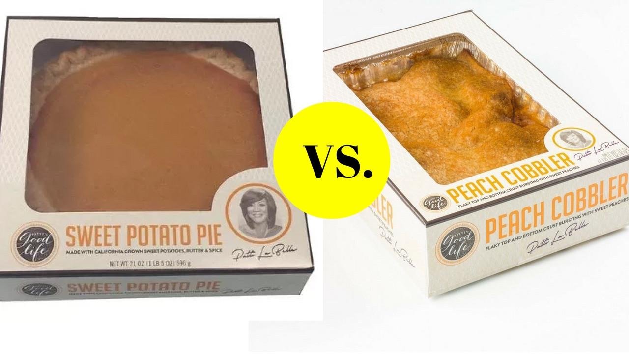 Cobbler Vs Pie  PATTI S PIE S Sweet Potato VS Peach Cobbler