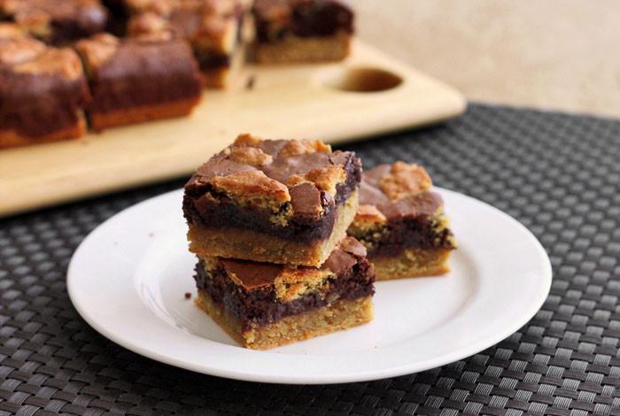 Cobbler Vs Pie  Scientifically Sweet Peanut Butter Cobbler Brownies