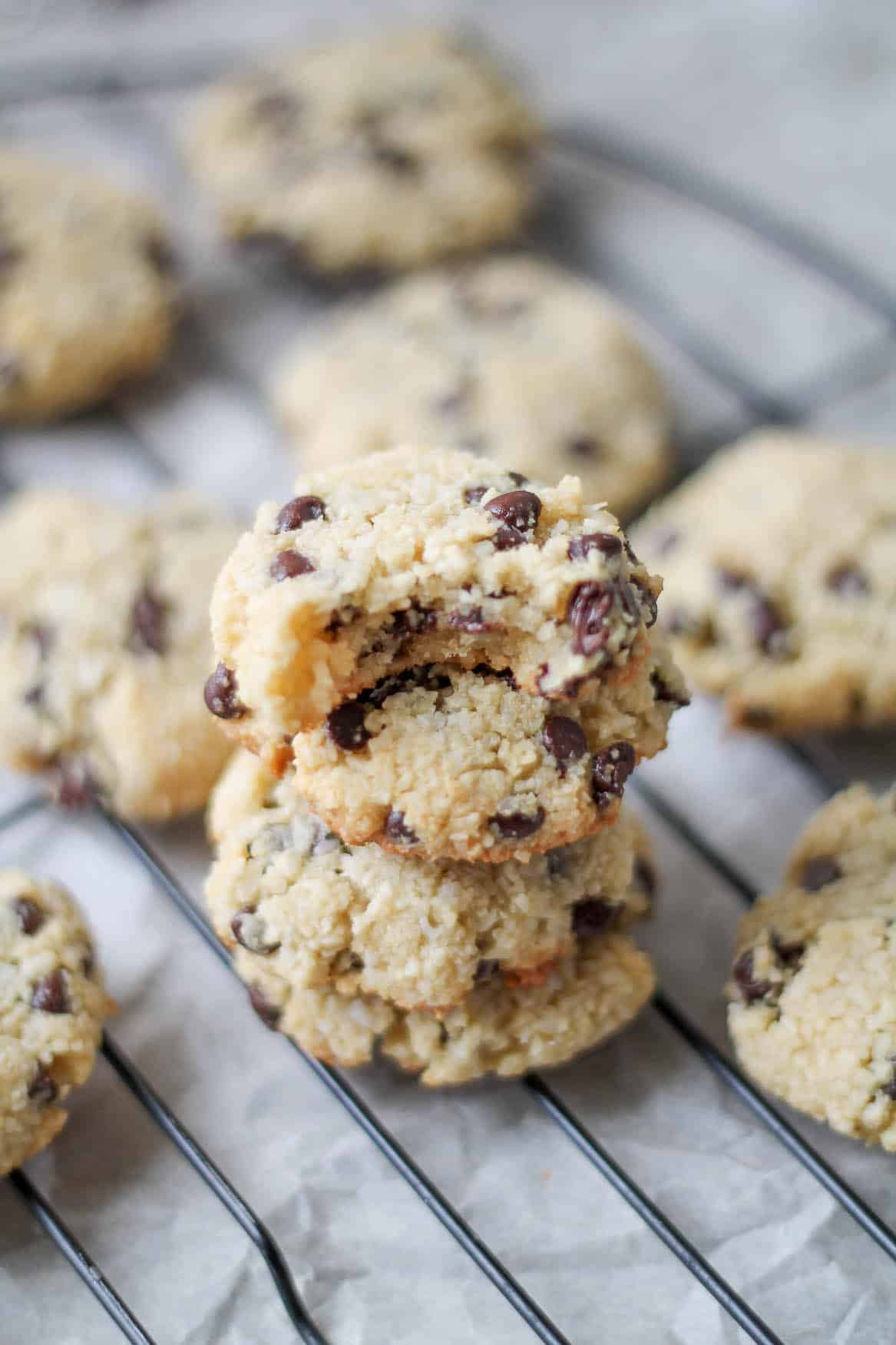 Coconut Chocolate Chip Cookies  Almond & Coconut Chocolate Chip Cookies Gluten Free