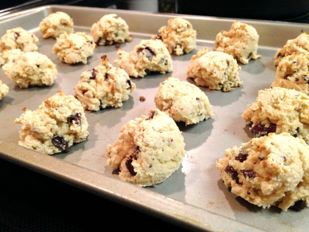 Coconut Chocolate Chip Cookies  Coconut Chocolate Chip Cookies