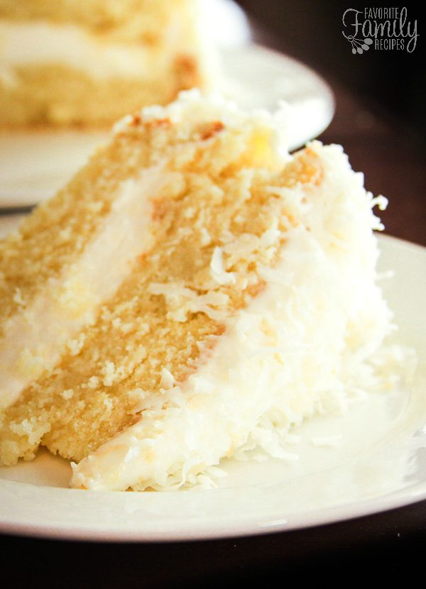 Coconut Cream Cake  Coconut Cream Cake with Coconut Cream Cheese Frosting