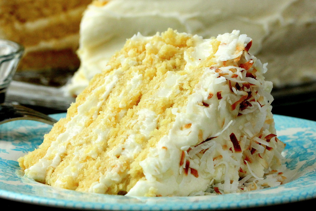 Coconut Cream Cake  Coconut Cream Cake How To Feed A Loon