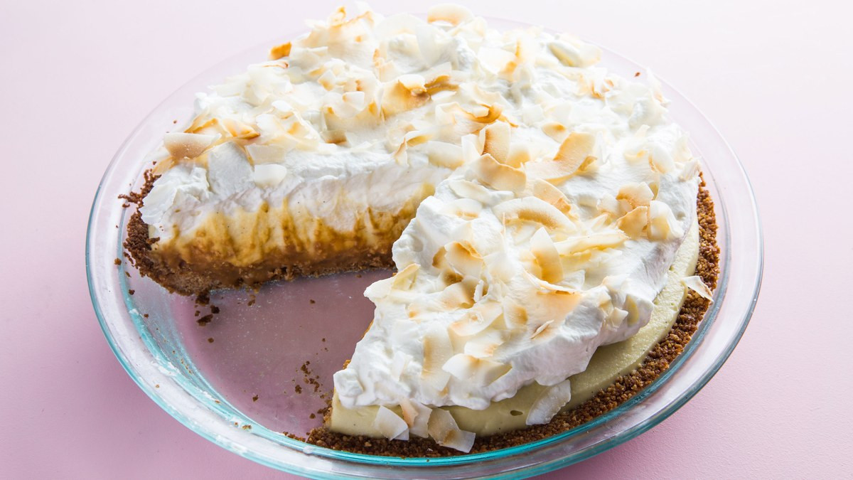 Coconut Cream Pie  Best Coconut Cream Pie Recipe
