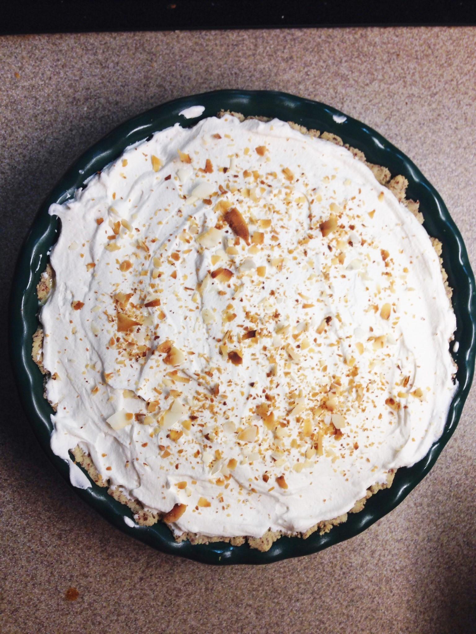 Coconut Cream Pie  THM Coconut Cream Pie Mrs Criddles Kitchen