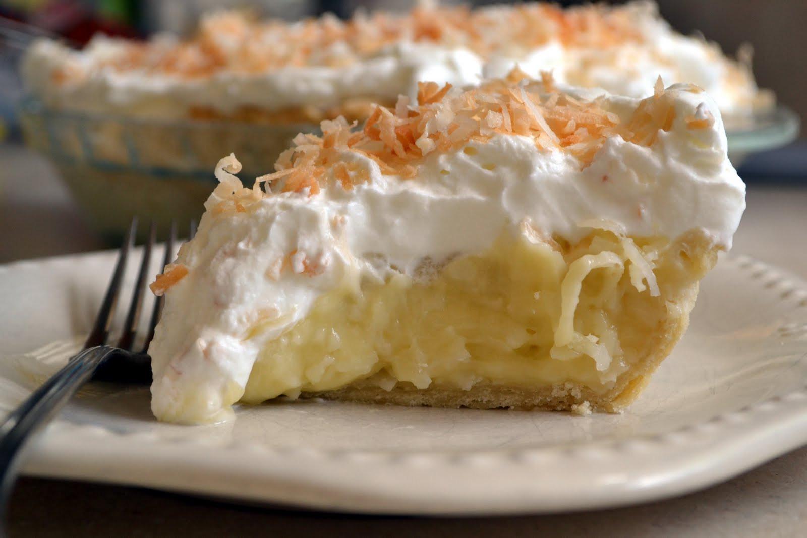 Coconut Cream Pie  Coconut Pie Recipe Easy Dessert Recipes